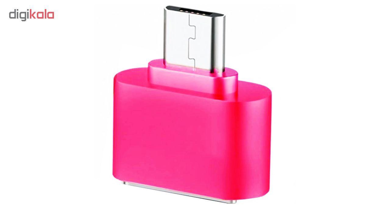 مبدل microUSB به USB OTG مدل Fashion main 1 3