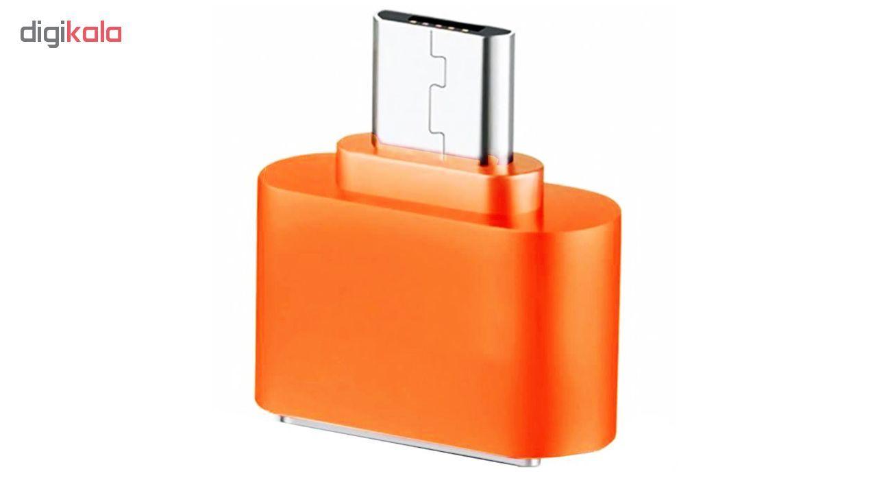 مبدل microUSB به USB OTG مدل Fashion main 1 4