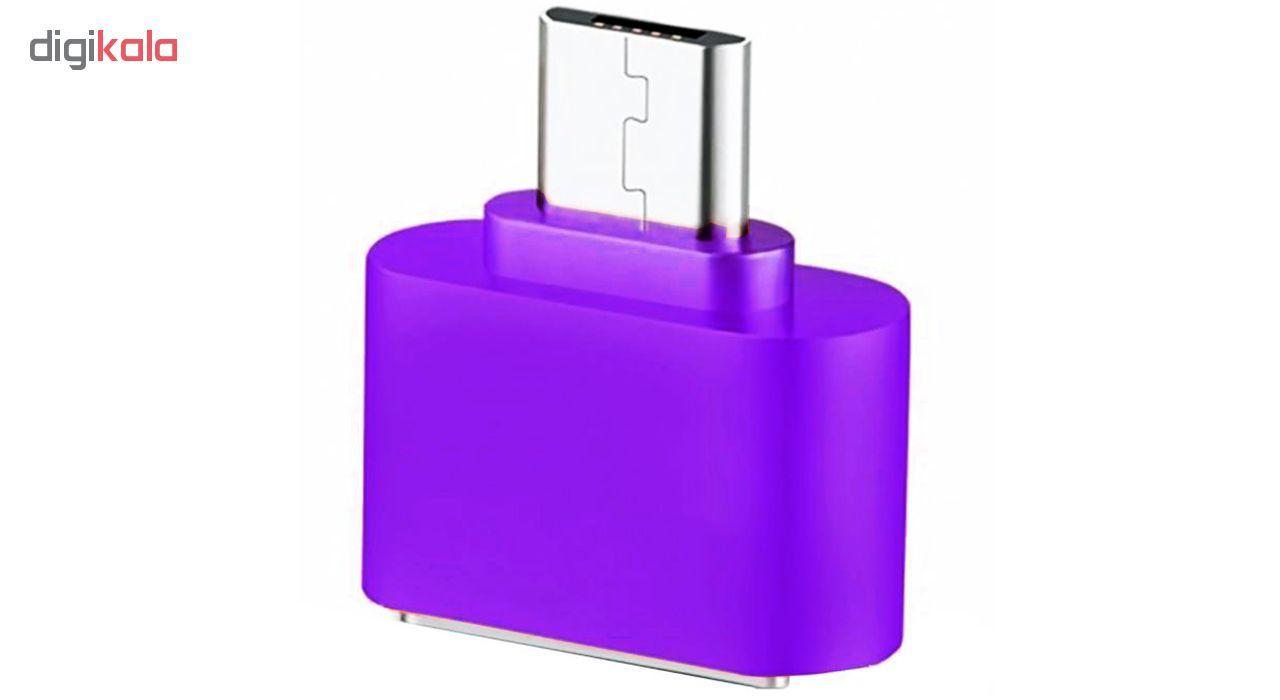 مبدل microUSB به USB OTG مدل Fashion main 1 6