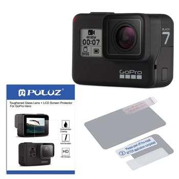 دوربین فیلم برداری ورزشی گوپرو مدل HERO7 Black Quick Stories به همراه محافظ صفحه و لنز پلوز