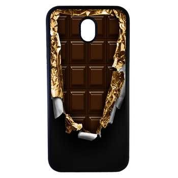 کاور طرح شکلات مدل 0160 مناسب برای گوشی موبایل سامسونگ galaxy j7 2017/pro