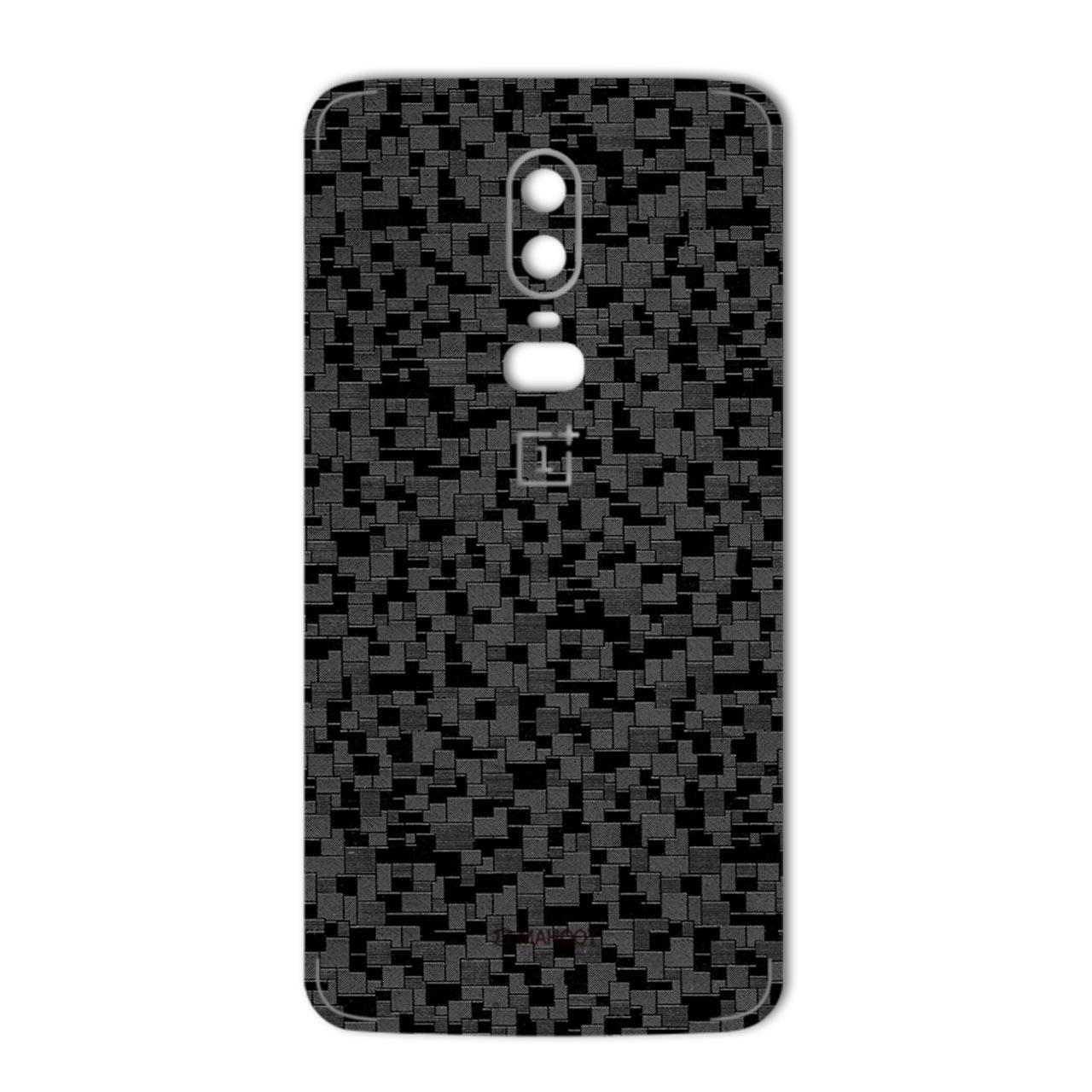 برچسب پوششی ماهوت مدل Silicon Texture مناسب برای گوشی  OnePlus 6
