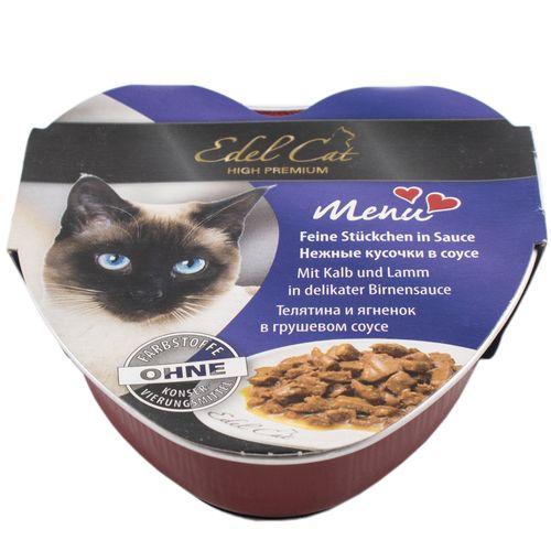 غذای کاسه ای گربه ایدل کت مدل MENU  وزن 85 گرمی