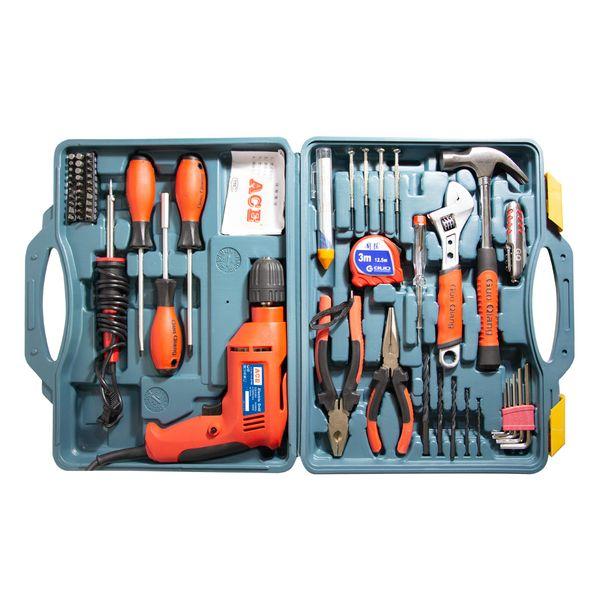 مجموعه 58 عددی ابزار ای سی ای مدل ACE-02 |