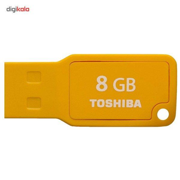 فلش مموری توشیبا مدل Mikawa U201 ظرفیت 8 گیگابایت  Toshiba Mikawa U201 Flash Memory – 8GB