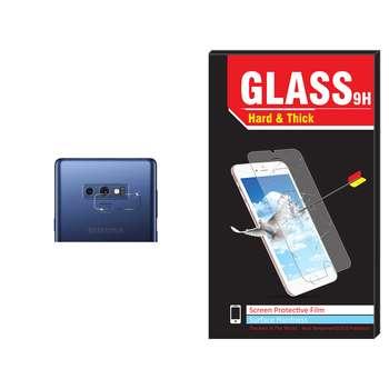 محافظ لنز دوربین شیشه ای Hard and thick مدل تمپرد مناسب برای گوشی موبایل سامسونگ Note 9