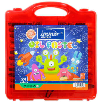 پاستل 24 رنگ ایمر کد JM 619-24