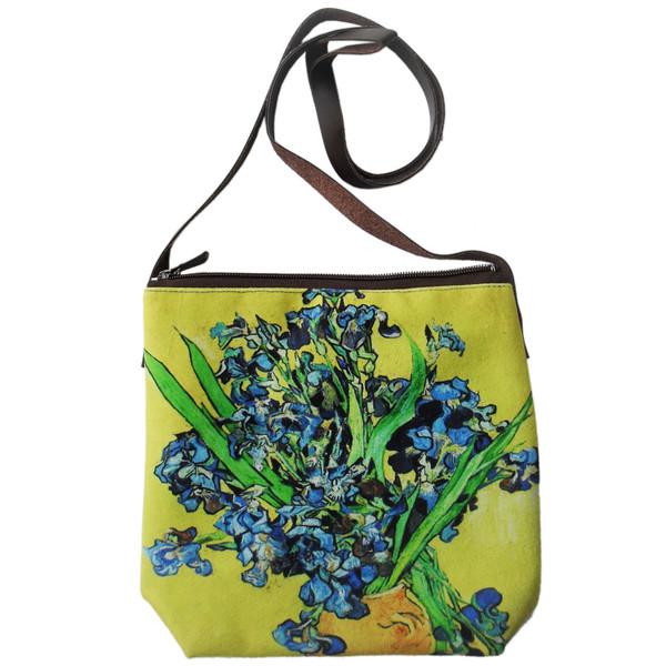 کیف هورشید طرح زنبق ونگوگ