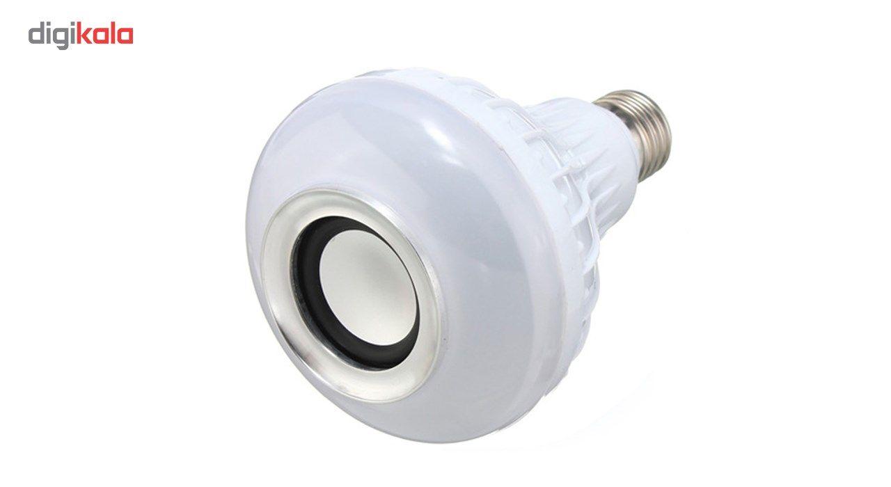 لامپ هوشمند و اسپیکر بلوتوث دیوایس کد Music Bulb  main 1 1