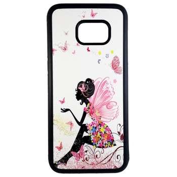 کاور طرح دخترانه مدل 0167 مناسب برای گوشی موبایل سامسونگ galaxy s7 edge