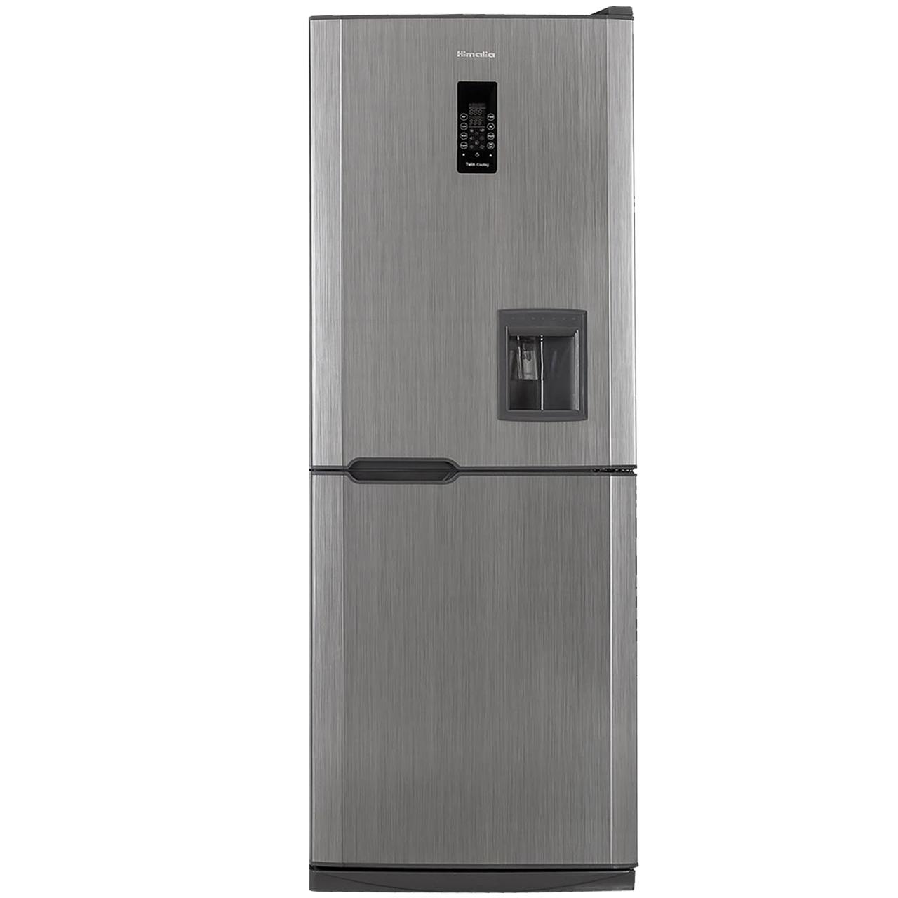 یخچال فریزر هیمالیا مدل کمبی 530 سفید چرمی نوفراست آبسردکن دار | Himalia Combi-530 Leather White No Frost Refrigerator With Water Dispenser