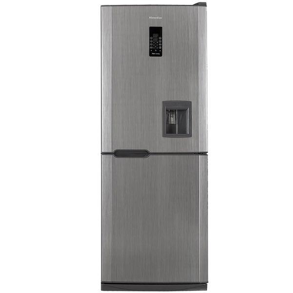 یخچال فریزر هیمالیا مدل کمبی 530 متالیک دورنگ نوفراست آبسردکن دار | Himalia Combi-530 Bicolor Metallic No Frost Refrigerator With Water Dispenser