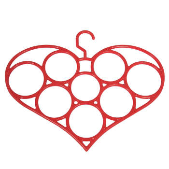 آویز شال و روسری طرح قلب مدل یکتا