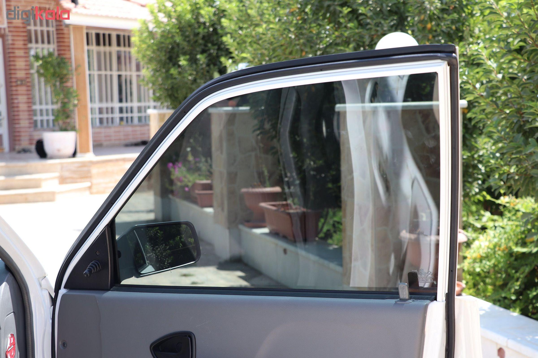 برچسب دودی شیشه خودرو مدل QUALITY USA مناسب برای خودروی پراید main 1 4