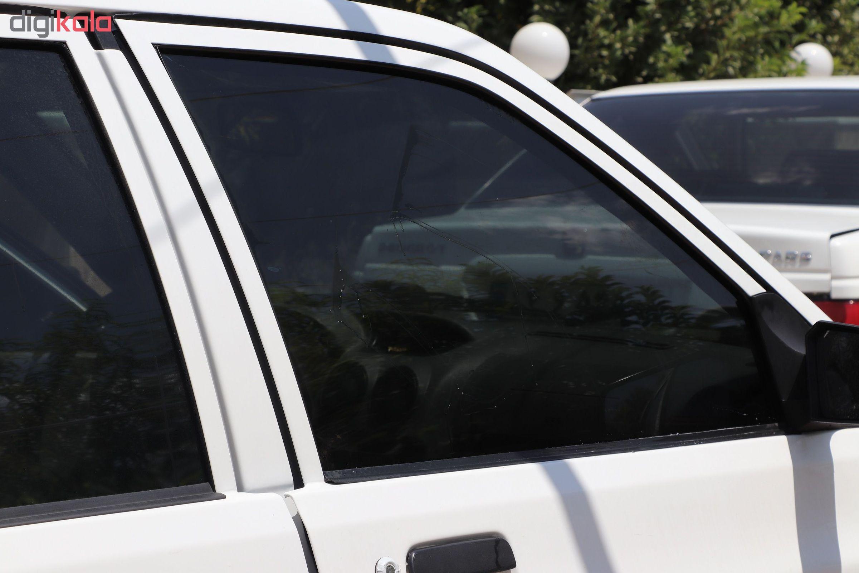 برچسب دودی شیشه خودرو مدل QUALITY USA مناسب برای خودروی پراید main 1 5