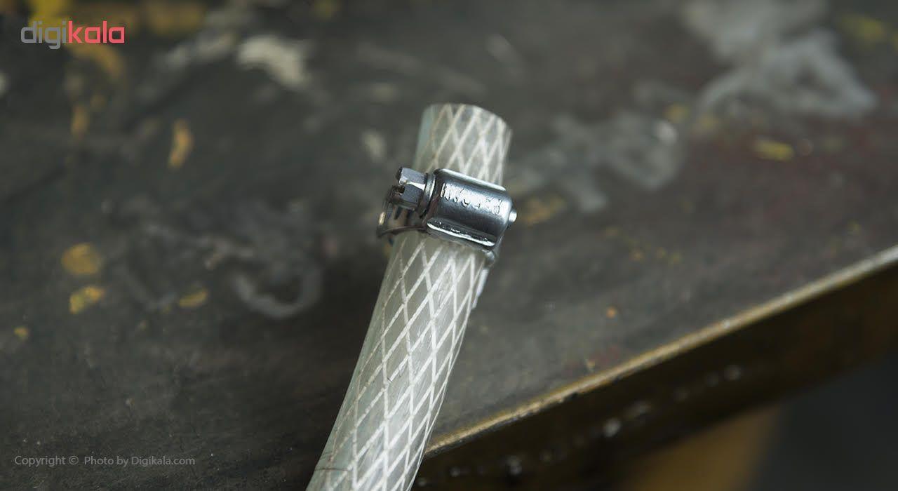 بست فلزی پارسان مدل P034 سایز 13-19 میلیمتر بسته 10 عددی main 1 5