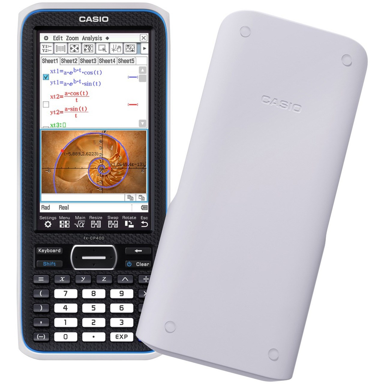 ماشین حساب مهندسی کاسیو مدل FX-CP400