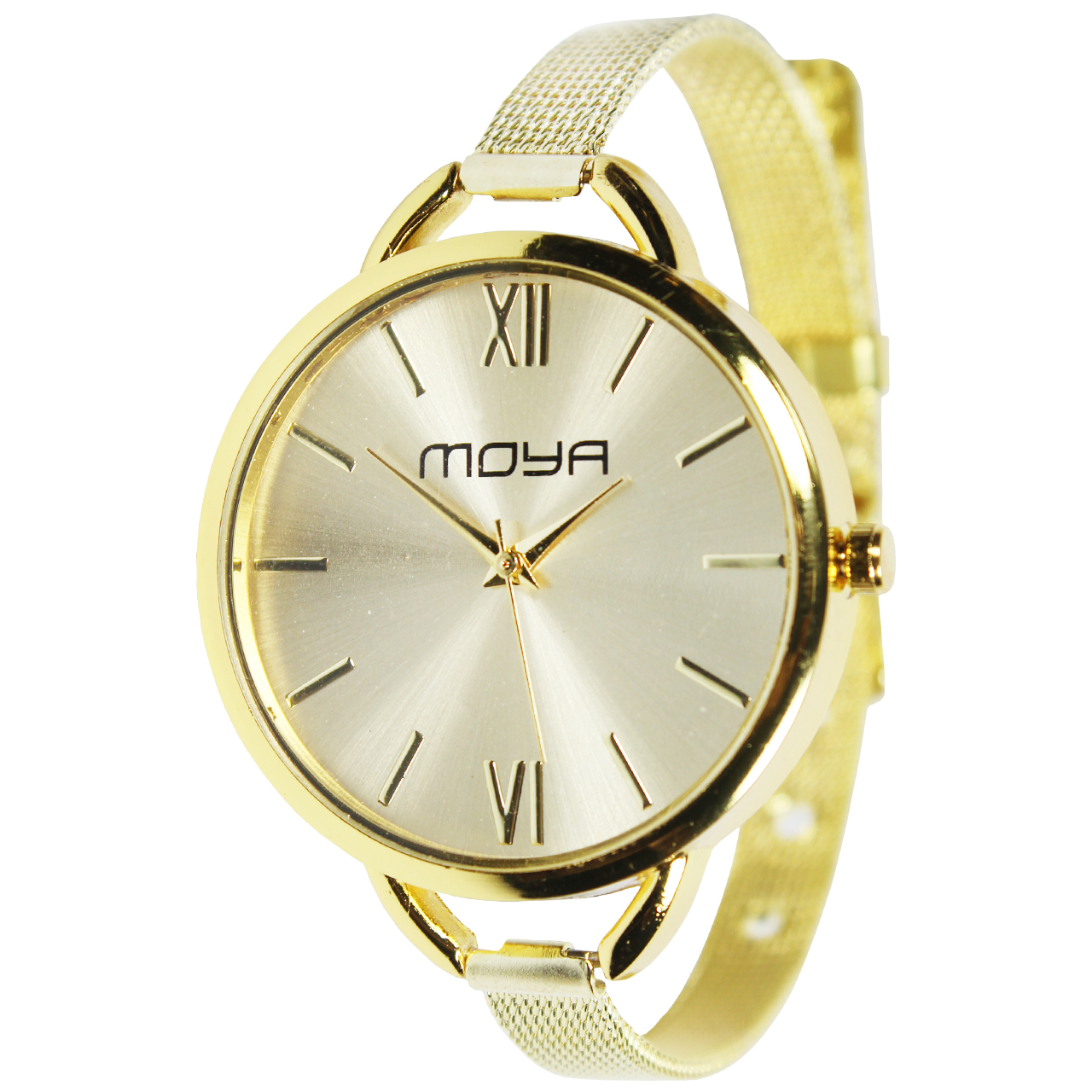ساعت مچی عقربه ای زنانه مویا مدل Golden