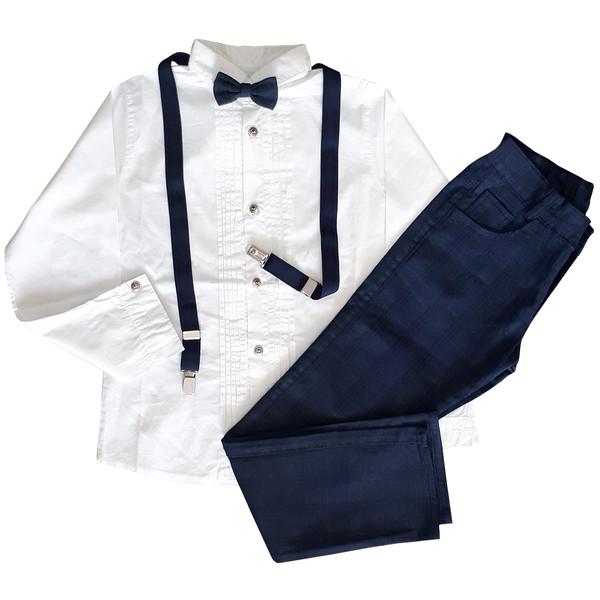 ست پیراهن و شلوار پسرانه مدل 2387DB