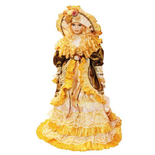 عروسک سرامیکی مدل Blonde Hair ارتفاع 63 سانتی متر