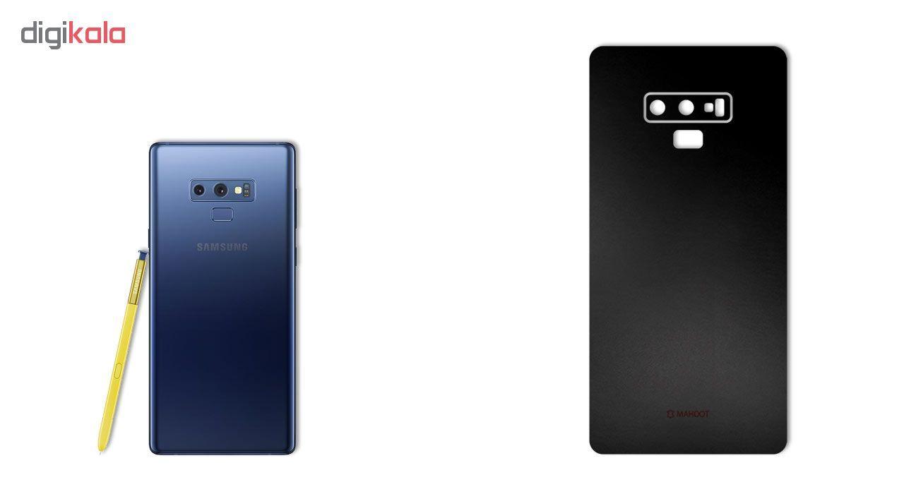 برچسب پوششی ماهوت مدل Black-color-shades Special مناسب برای گوشی  Samsung Note 9 main 1 1