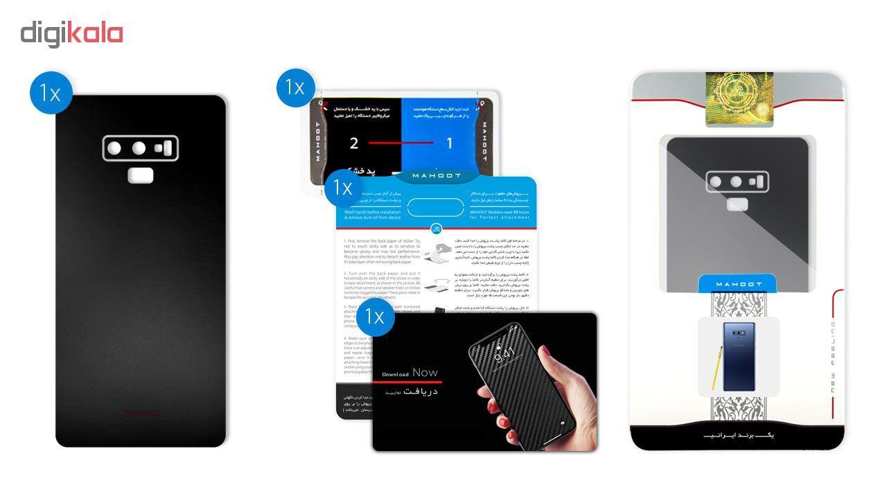 برچسب پوششی ماهوت مدل Black-color-shades Special مناسب برای گوشی  Samsung Note 9 main 1 4