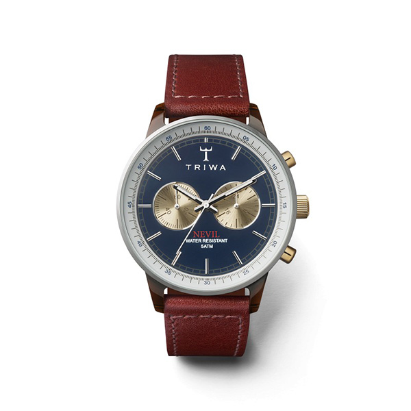 ساعت مچی عقربه ای تریوا مدل Duke  nevil 46