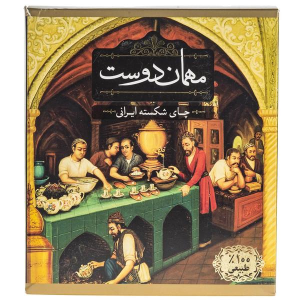 چای شکسته ایرانی مهمان دوست مقدار 450 گرم