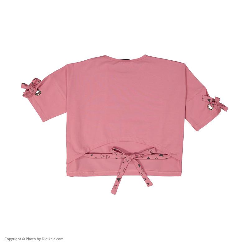 تی شرت دخترانه پیانو مدل 1830-87