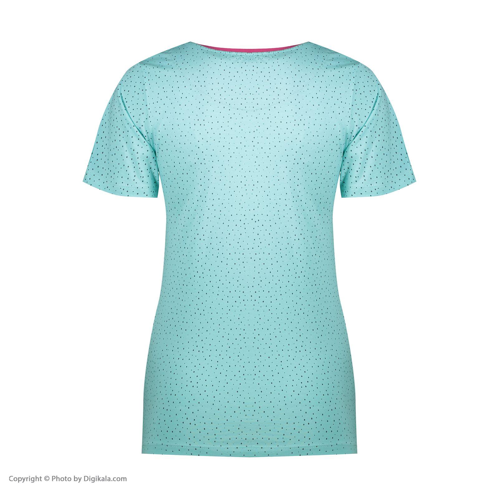 ست تی شرت و شلوارک راحتی زنانه مادر مدل 2041102-54 -  - 6