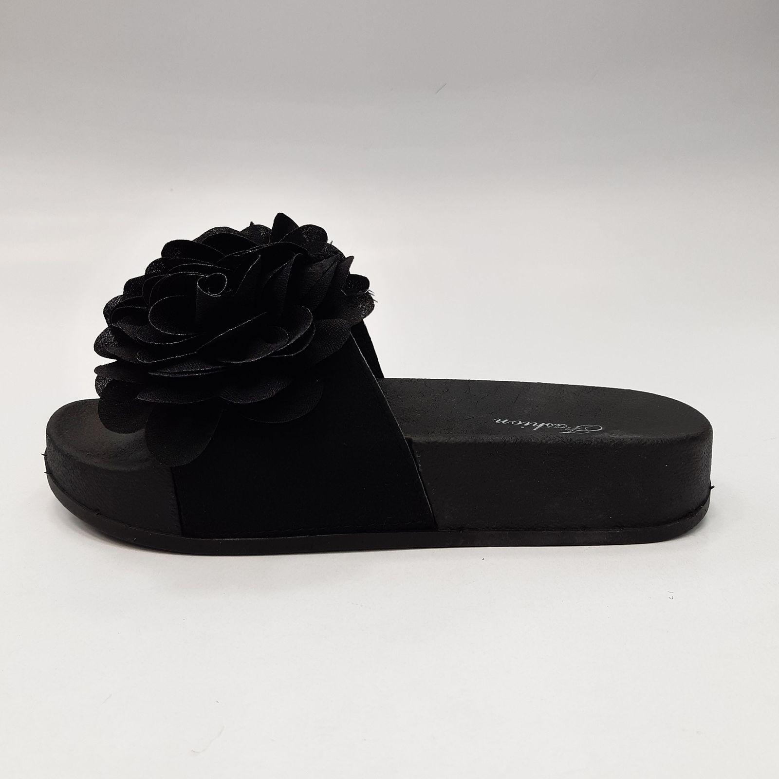 دمپایی زنانه نیکتا مدل L-030-Flower-Bl -  - 2