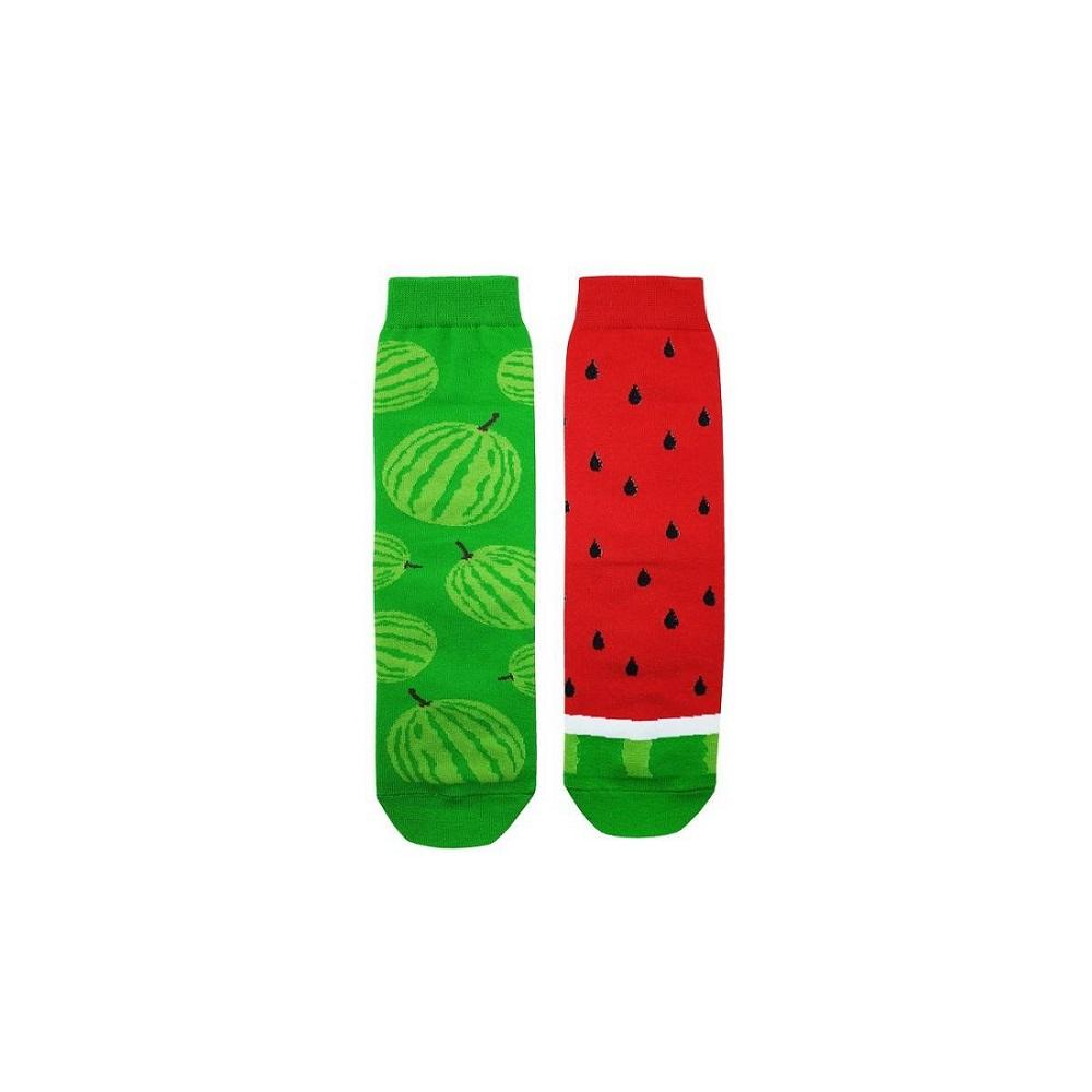 جوراب زنانه پاتریس طرح هندوانه کد 99-20201123