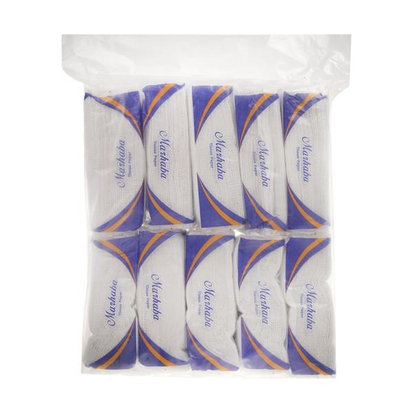 دستمال کاغذی 50 برگ مرحبا مدل 02 بسته 10 عددی