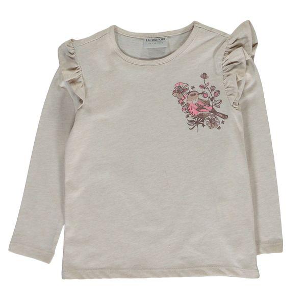 تی شرت دخترانه ال سی وایکیکی کد 0S5528Z4-D5H