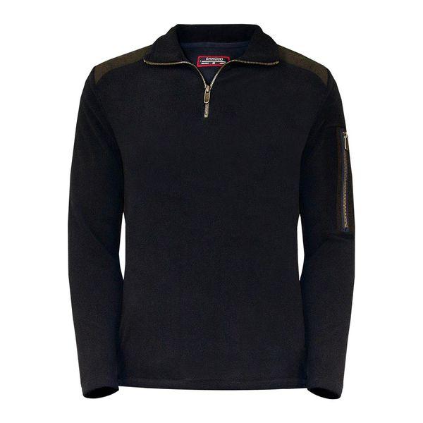 سوییت شرت مردانه سیاوود مدل KEVIN-FZ-80074 S0180 سرمه ای