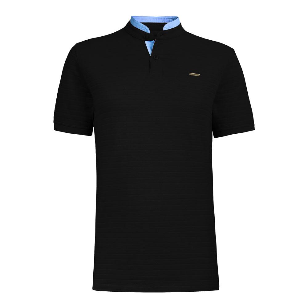 تي شرت مردانه سیاوود  مدل DIPLOMAT-32813-مشکي S0006
