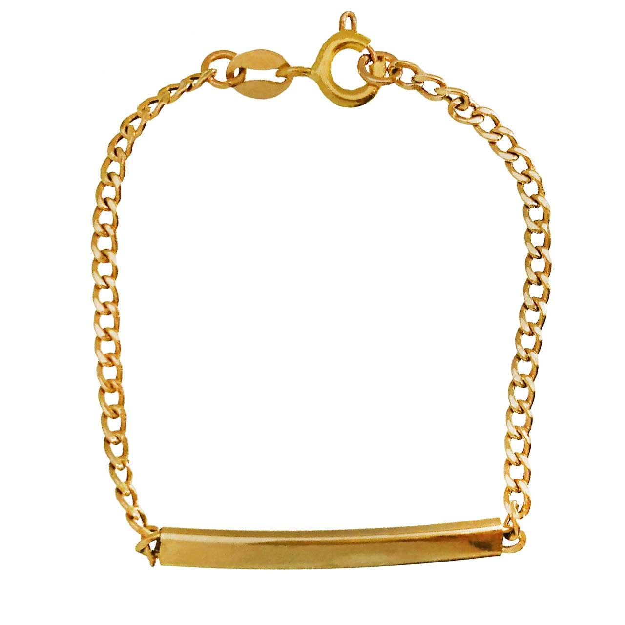 دستبند طلا 18عیار کانیار گالری مدل M750