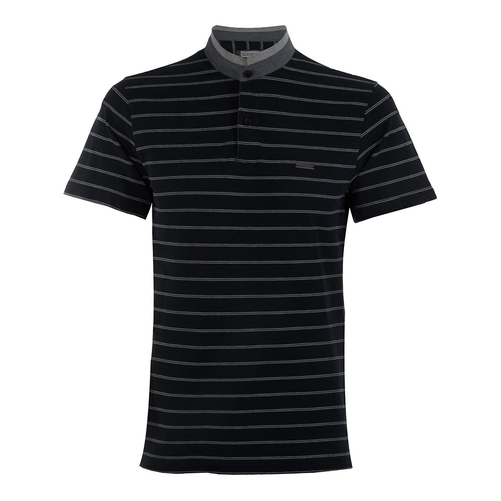 تي شرت مردانه سیاوود  مدل DIPO-32882-مشکي S0006