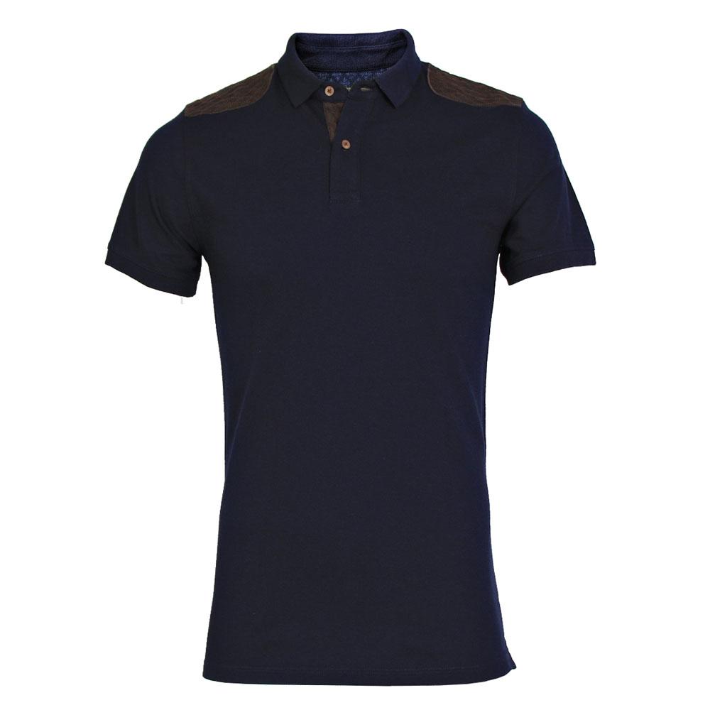 تي شرت مردانه سیاوود  مدل POLO-ANNA-M-80014-سرمه اي S0180