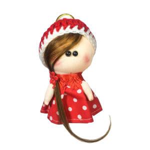 آویز عروسکی مدل دختر روسی کد 0202