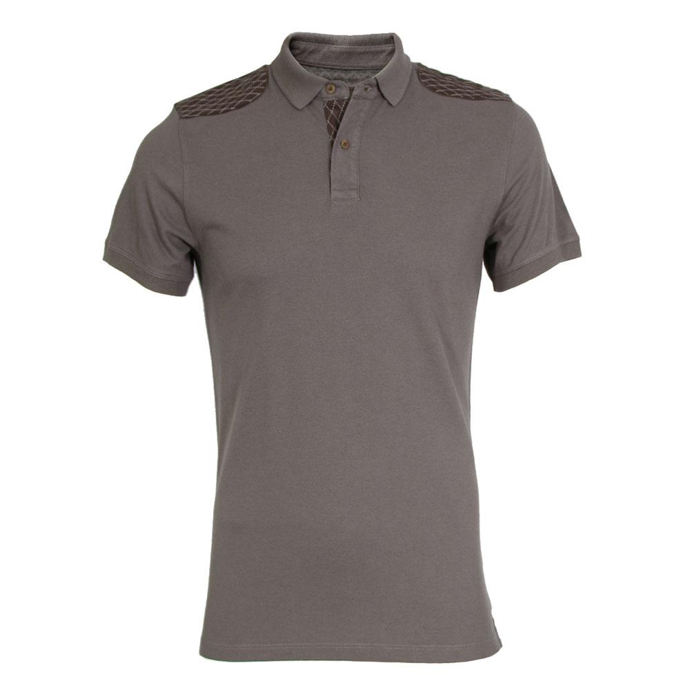 تي شرت مردانه سیاوود  مدل POLO-ANNA-M-80014-طوسي سيرS0205