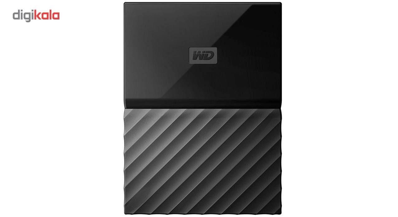 هارددیسک اکسترنال وسترن دیجیتال مدل My Passport WDBS4B0020BBK ظرفیت 2 ترابایت main 1 24