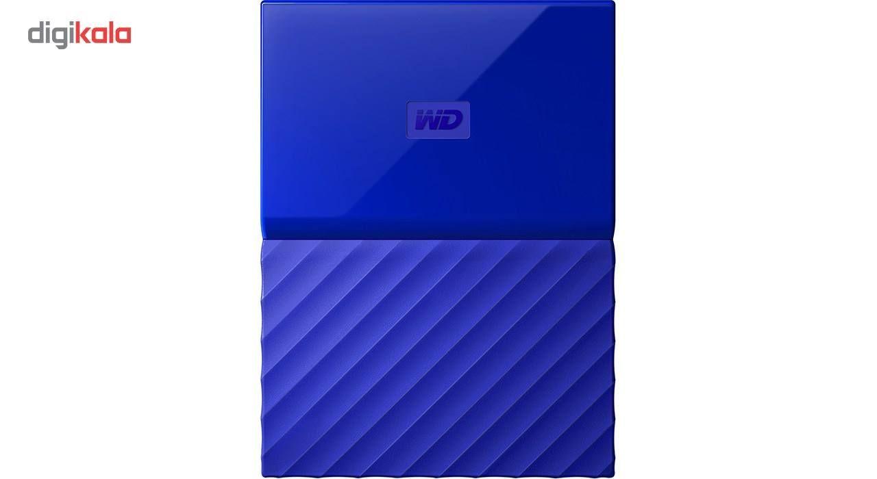 هارددیسک اکسترنال وسترن دیجیتال مدل My Passport WDBS4B0020BBK ظرفیت 2 ترابایت main 1 16