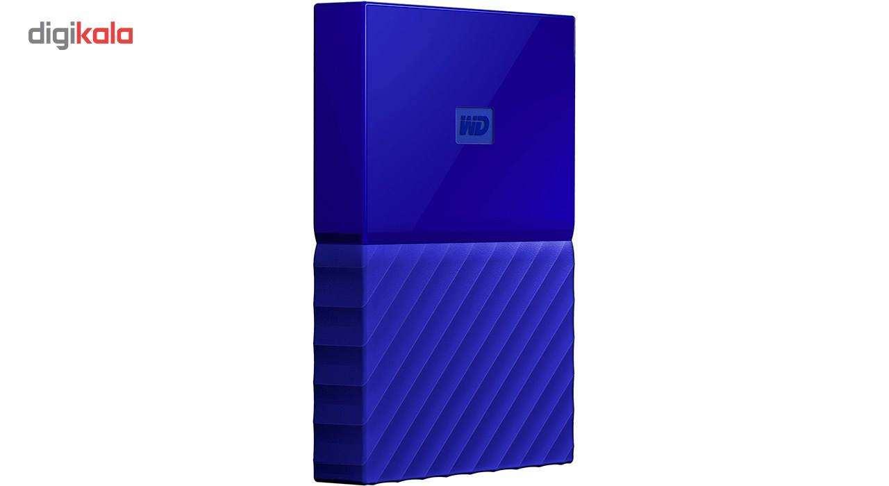 هارددیسک اکسترنال وسترن دیجیتال مدل My Passport WDBS4B0020BBK ظرفیت 2 ترابایت main 1 13