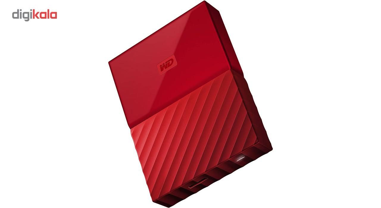 هارددیسک اکسترنال وسترن دیجیتال مدل My Passport WDBS4B0020BBK ظرفیت 2 ترابایت main 1 2