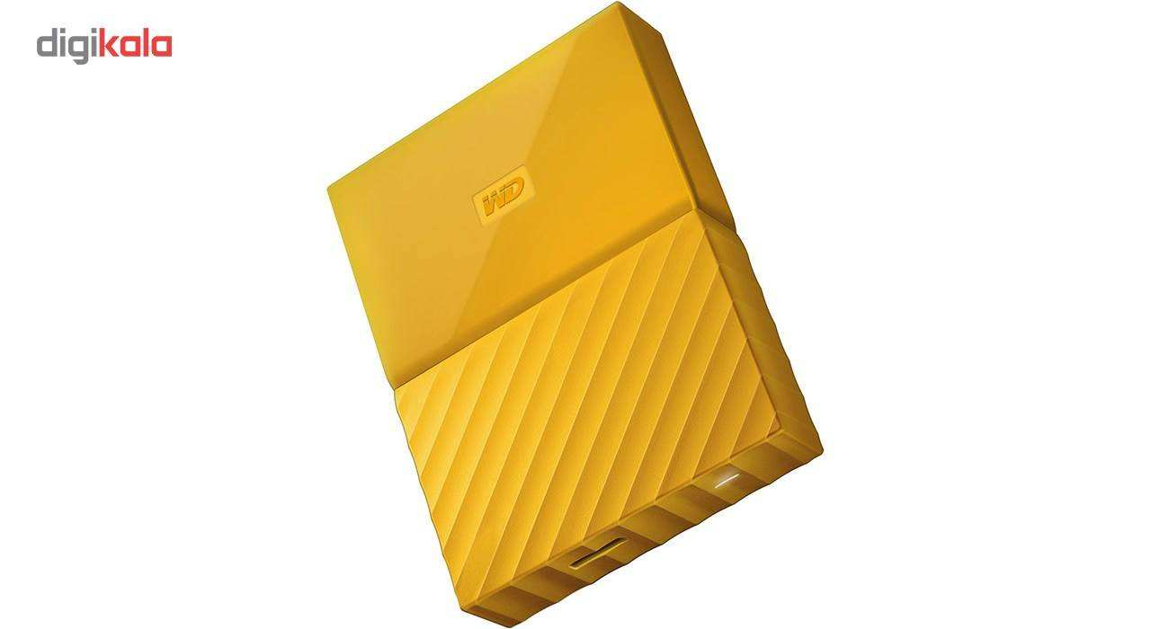 هارددیسک اکسترنال وسترن دیجیتال مدل My Passport WDBS4B0020BBK ظرفیت 2 ترابایت main 1 4