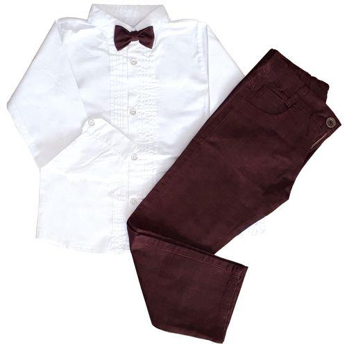 ست پیراهن و شلوار پسرانه مدل 2387BR