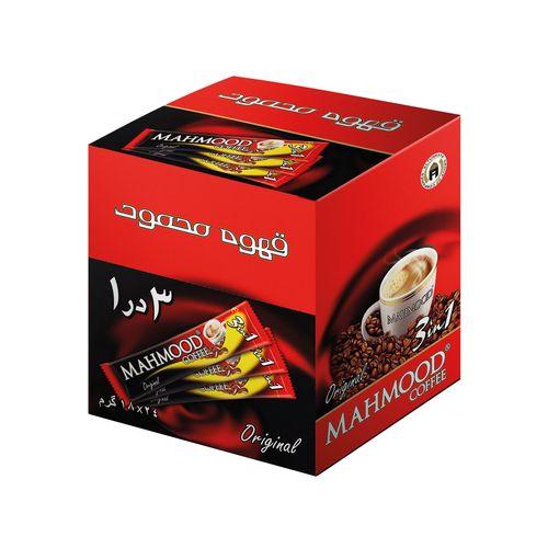قهوه فوری محمود مدل 3 در 1 بسته 24 عددی