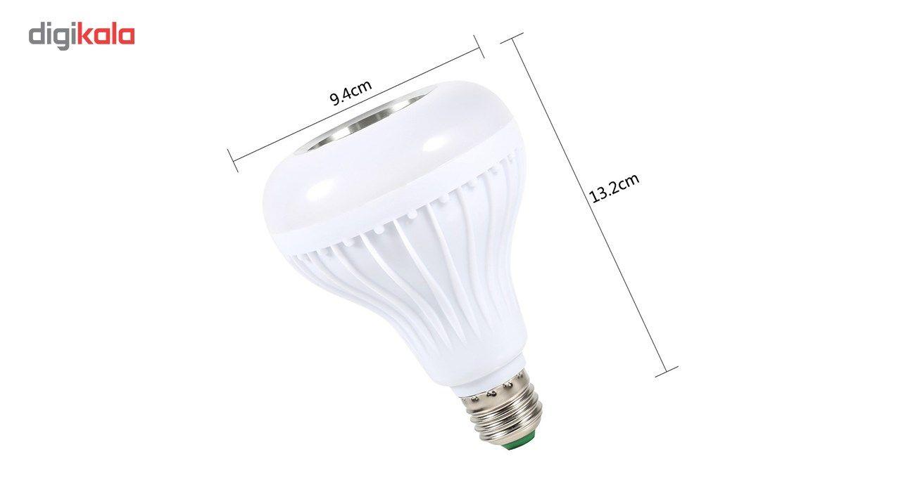 لامپ هوشمند و اسپیکر بلوتوث دیوایس کد Music Bulb  main 1 13