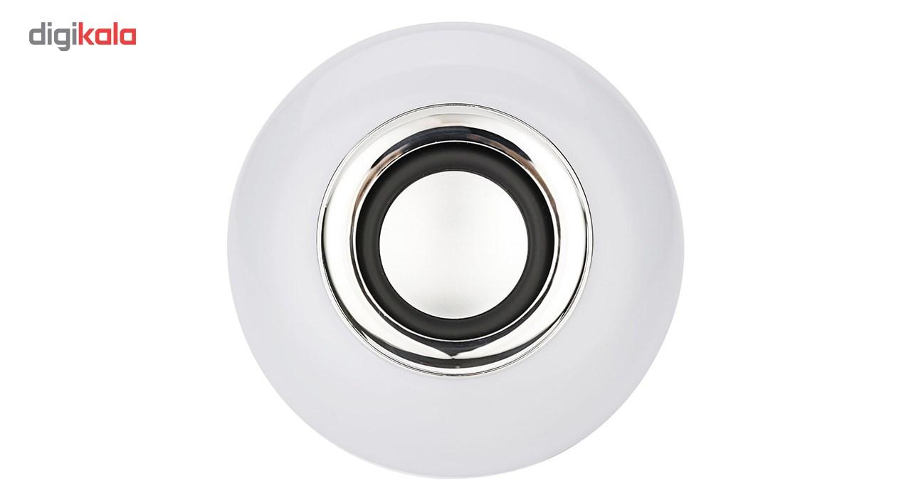 لامپ هوشمند و اسپیکر بلوتوث دیوایس کد Music Bulb  main 1 14